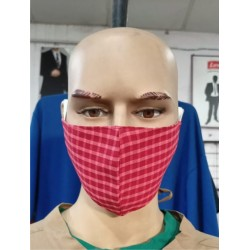 DOUBLE LAYER FABRIC MASK HEAVY GSM SOFT FABRIC