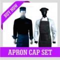 APRON CAP SET
