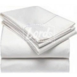 """BED SHEET WHITE 20s COUNT DOUBLE  BED - SIZE 108"""" X 112""""  
