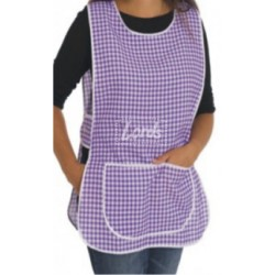 APRON FRONT & BACK COVERING, TABORDS