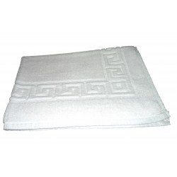 "BATH MAT SIZE  22"" X 32"" 400 GMS PER PC. WHITE"