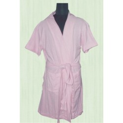 BATH ROBE COLORED TOWELING. FULL SIZE .