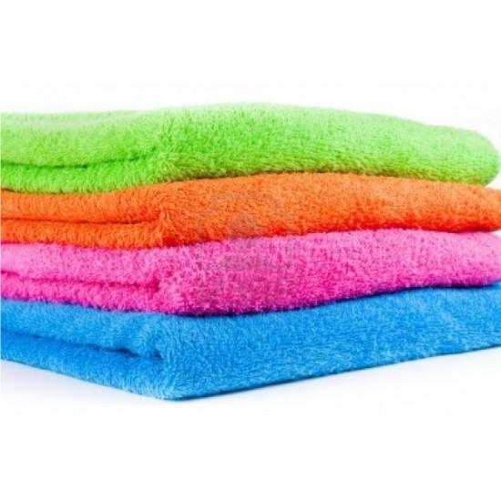 "4 PIECES BATH TOWEL COLOURED. SET OF FOUR  TOWELS. SIZE 30"" X 60"" FULL SIZE"