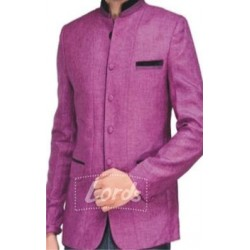Jodhpuri Coat Lavender With Black Trimming Price Rs 999 Including GST & Door Delivery Anywhere in India.