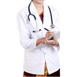 COAT LONG SLEEVE DOCTOR-SCIENTIST-PHARMIST BEAUTICIAN COAT