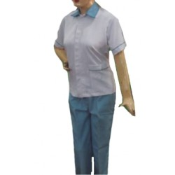 WOMEN WORK WEAR HOUSE KEEPING NURSING STAFF UNIFORM