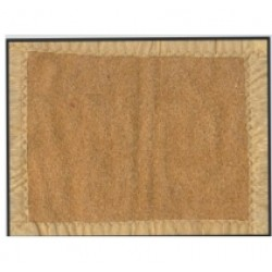 "BLANKET CAMEL COLOR  SINGLE BED 60"" X 90' WITH FOUR SIDE POLYESTER BORDER"