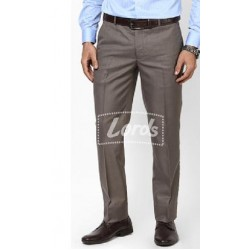 Trouser Pant Formal Premium Non Pleated Formal Brown