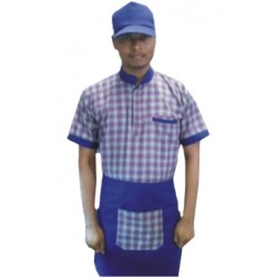 SERVICE UNIFORMS UNIFORM T SHIRT WITH APRON AND CAP