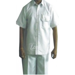 WHITE UNIFORM SAFARI SUIT WORK WEAR UTILITY DRIVER PEON  UNIFORM RS 499